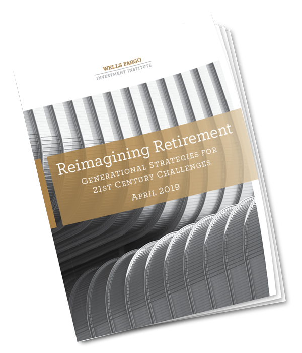 image of cover of Reimagining Retirement report
