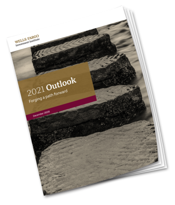 Cover of the 2021 Outlook report PDF.